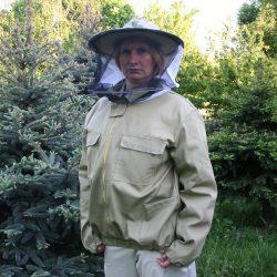 Bluza pszczelarska z kapeluszem klasycznym