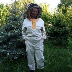 Kombinezon pszczelarski typ kosmonauty