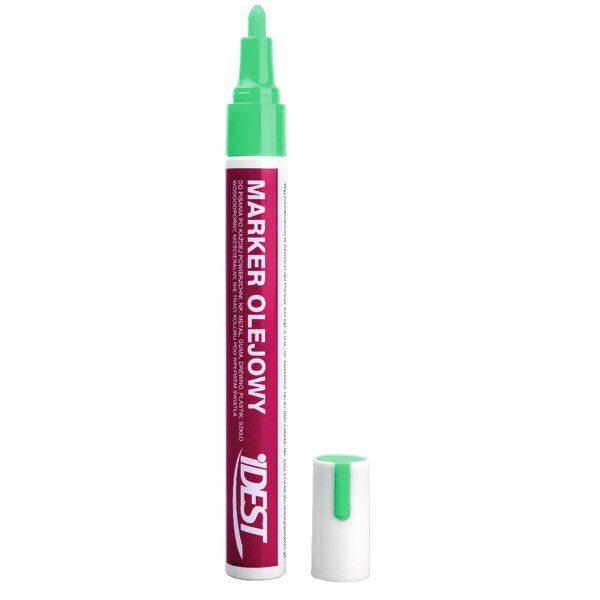 Zielony marker do znakowania matek pszczelich