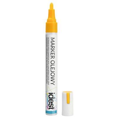 Żółty marker do znakowania matek pszczelich
