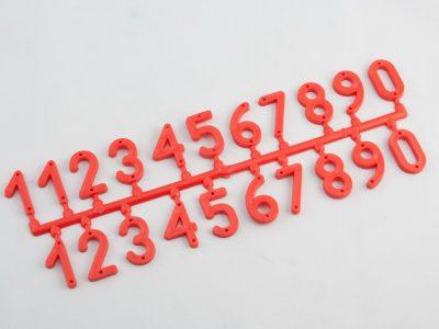 Plastikowe numerki na ule