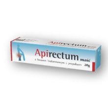 Apirectum, maść z kwasem hialuronowym i propolisem, 20 g