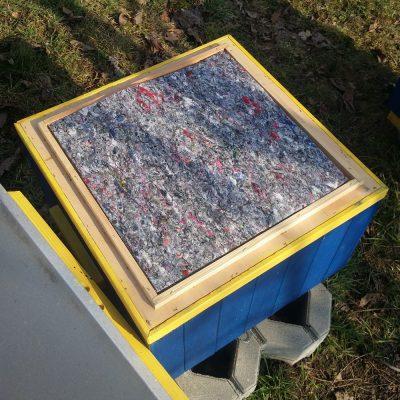 Filc tapicerski, ocieplenie ula wielkopolskiego