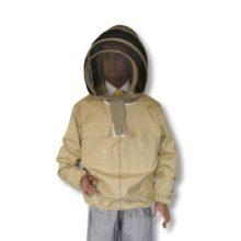 Bluza pszczelarska rozpinana z kapeluszem kosmonauta - L - Socha
