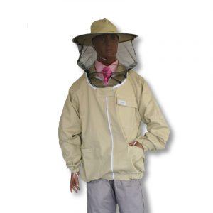 Bluza pszczelarska rozpinana z kapeluszem XL - Adamek