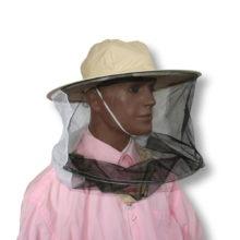 Kapelusz pszczelarski z siatką dookoła - Adamek