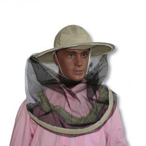 Kapelusz pszczelarski z uchylaną siatką - Adamek