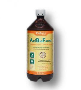 ApiBioFarma probiotyki z ziołami dla pszczół 1l