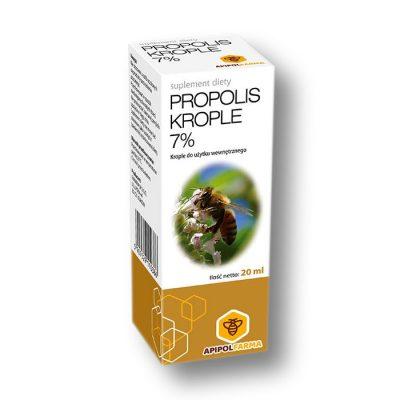 Propolis krople 7%