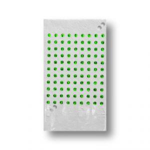 Opalitki czeskie zielone