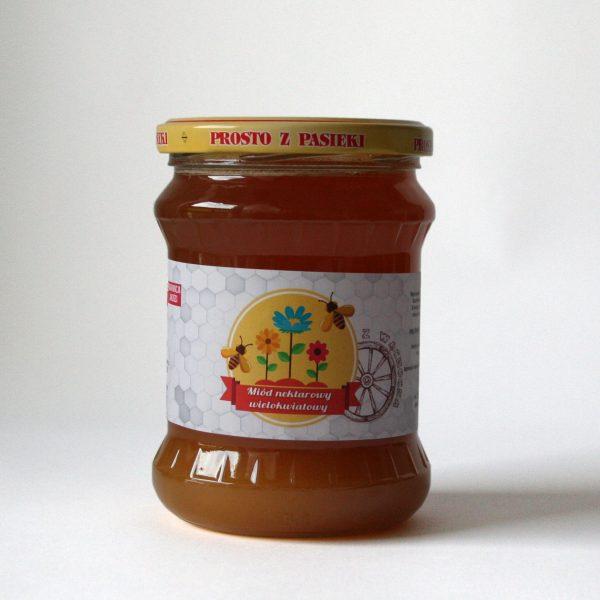 Miód wielokwiatowy - 600 g