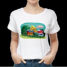 Koszulka męska t-shirt w pasiece