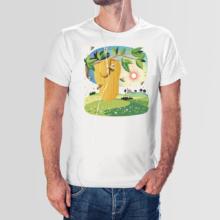 Koszulka męska t-shirt plaster miodu