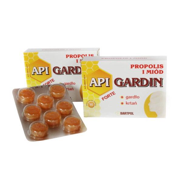 API GARDIN FORTE, Propolis i miód
