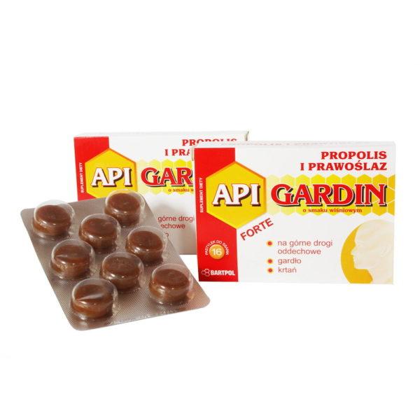 API GARDIN FORTE, Propolis i prawoślaz wiśniowe