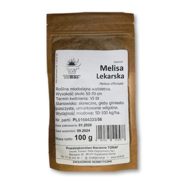 Melisa Lekarska nasiona